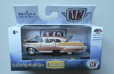 1957 BRONZE PEACH MERCURY TURNPIKE M2 Machines AUTO-THENTICS R39 Diecast 1/64