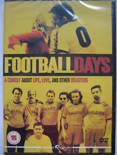 Football Days (DVD, 2005) NEW Sealed PAL Region 2 Spanish with English subs