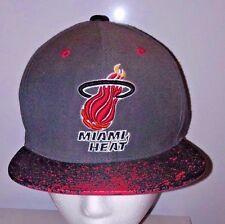 Miami Heat Snapback Hat Official NBA Hardwood Classics Mitchel & Ness