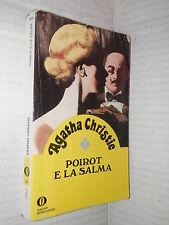 POIROT E LA SALMA Agatha Christie Mondadori Oscar Gialli 22 1985 libro giallo di