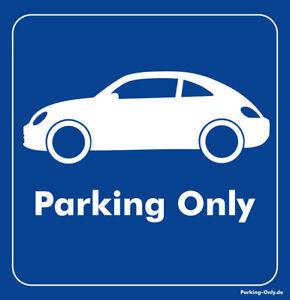 Parking Only - VW Beetle 5C - Aufkleber