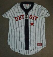 Detroit Stars Rawlings AUTHTENTIC Negro League baseball Jersey Sz 42