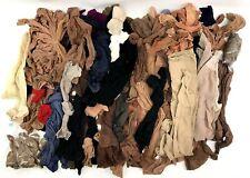 Lot of 50+ Ladies Nylon Stockings & Pantyhose Pre-owned Crafts Art Gardening Etc