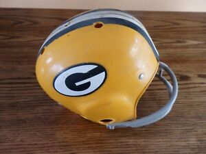 Vintage Green Bay Packers Rawlings Childs Helmet With Ear Extension *SUPER RARE*