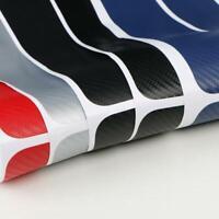 Car Threshold Carbon Fiber Sticker Door Sill Scuff Cover Protector 3D Blue AU
