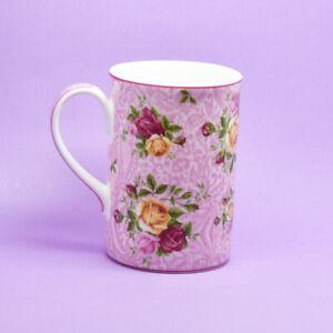 Royal Albert Old Country Roses Dusky Pink Lace Mug BNIB New