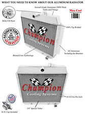 """2 Row 1"""" RS Champion Radiator for 1949 1950 1951 1952 1953 1954 Chevy Cars"""