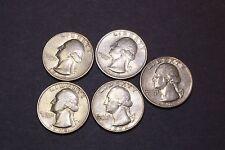 Washington Quarter Set 1974, 1974-D,1977,1978,1979 5 Coins Clad FREE SHIPPING
