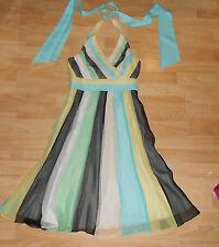 Coast Silk Sleeveless Women's Halter Neck Dresses