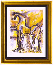 """Salvador Dali Signed/Hand-Numbered Ltd Ed """"Trojan Horse """"Litho Print (unframed)"""
