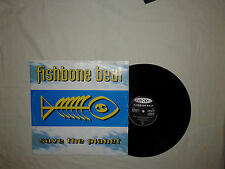 "Fishbone Beat ‎– Save The Planet-Disco Mix 12"" 33 Giri Vinile ITALIA 1994 House"