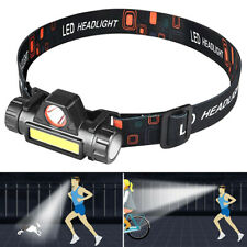 LED Headlamp Flashlight Headband Light Torch Outdoor Joggers Headlight Hiking