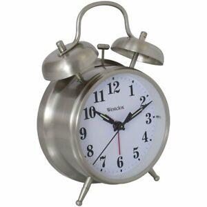 "Westclox Big Ben 4 1/2"" Twin Bell Alarm Clock 70010A"