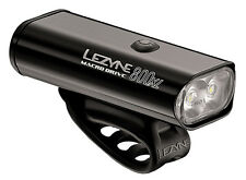 Lezyne Macro Drive 800XL LED Front Headlight Bike Bicycle Light Black 800 Lumen