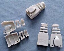 L-COM TDS8CVR-GR RJ45 Snap-on Strain Relief Boot-Gray 50/pk NSN 5935-01-508-9881
