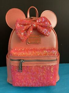 Disney Park Loungefly Mini Backpack Little Mermaid Ariels Grotto Coral Paris New