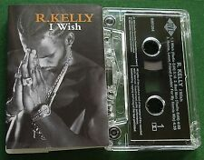 R. Kelly I Wish Cassette Tape Single - TESTED