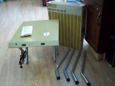 VINTAGE KENCO 750 FOLDING PROJECTOR TABLE 16 X 18 W RECEPTACLES ORIGINAL BOX USA