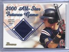 2001 BOWMAN BRAD WILKERSON FUTURES GAME RELICS EXPOS