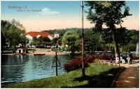 Strassburg Strassbourg Elsass Alsace ~1910 Frankreich Partie i.d. Orangerie AK