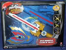 Power Rangers Operation Overdrive Saber Max 2007 Electronic Lights an Sound New