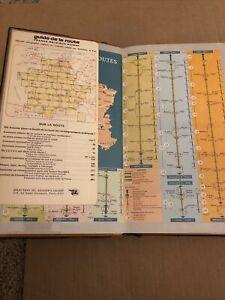 Guide De La France Vintage 1969 Reader's Digest French Tour Travel Map