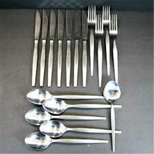 Mid Century Ekco Eterna Prince Stainless 17pcs Flatware MCM Made in Japan