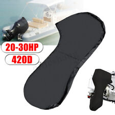 20-30HP 420D Full Outboard Boat Motor Engine Cover Dust Rain Protection Black