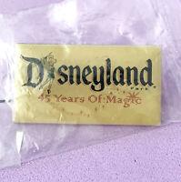 Disney Collector Pin Disneyland 45 Years of Magic Cast Exclusive Version 2000