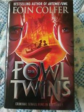 The Fowl Twins. Eoin Colder. New HB. From Artemis Fowl Writer.