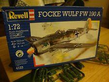 old Revell 4123, Focke-Wulf Fw 190 A, 1:72