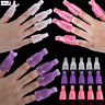 10pc Nail Polish Remover Soaker Cap Acetone Safe Tool Container UV Gel Manicure