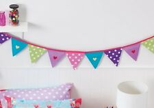 TABITHA TIGHTROPE Bunting Flags Cotton Wall Decoration by Cubby House Kids *NEW*
