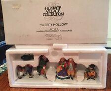 Sleepy Hollow Figures - Department 56 Heritage Village Collection 5956-0 Box