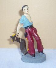 Wildwest - Figur aus Masse : gefesselter Cowboy von CHIALU