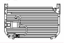 NEU Kondensator Klimaanlage Nissan Laurel Altima 92110-81L00 Nissen 94495