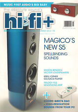 HI-FI + PLUS UK 94 December 2012 MAGICO S5 Vector Krell Cipher Trilogy 933 Amp