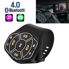 Blueteeth Car Steering Wheel Control Button Remote Handsfree For Android iPhone