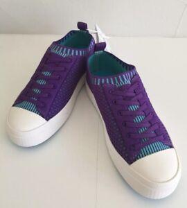 "NATIVE ""Jefferson 2.0 Liteknit"" Junior Girl's Starfish Purple Sneakers~~Size 2"