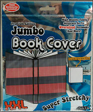 Jumbo Stretchable Book Cover-Striped