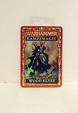 Warhammer-Fantasy-Kampfmagie:Wood Elves,deutsch NEU + OVP Rarität
