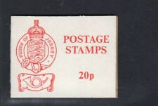 Jersey 1975 20p Red on White Sachet Booklet