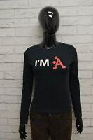 Maglia A-STYLE Donna Taglia Size XS Maglietta Shirt Woman Cotone Manica Lunga