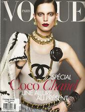 Vogue Paris (France) Magazine - Mars (March) 2009 - Iris Strubegger