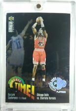 Michael Jordan 1995 Collectors Choice Players Club Platinum Playoff Time #353 SP