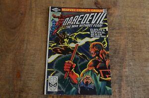 Daredevil #168 Marvel Comic Elektra 1st Appearance January 1981 FN 6.0