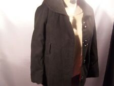 Girls Black Pea Coat size M (10/12)