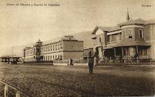 chile, IQUIQUE, Casino de Oficiales y Cuartel de Caballeria (1910s)