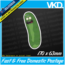 Pickle Rick Sticker/ Decal - Dab Funny Meme Rick & Morty Plumbus Drift JDM Rekt