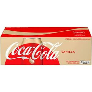 Coke Vanilla Flavored Cola 12 pack Coca Cola